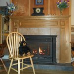 Fireplace in Lodge