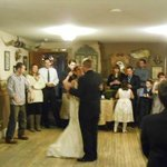 A Wedding Reception in our lodge