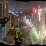 Night view over Taichung