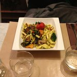 Provence Vegetable pasta