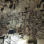 Camera e murale