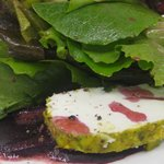 Goat Cheese Salad with Beets