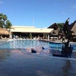 piscine et buffet