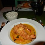Coconut Shrimp with Red Thai Curry