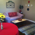 Suite B living area