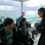 CLASSROOM AT SEA FOR THE YOUNG DIVERS