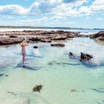 Mermaid pool - a 30min walk along the beach away