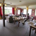 Common area where you can chat, have your meals, or simply relax