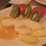 Variado de fruta del desayuno....