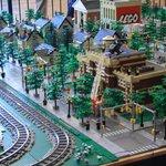 Seasonal Lego display!