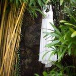 Dress at the villa
