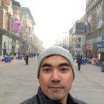 At WangFujing Road, Beijing