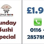 Best sushi and best offer in town - do not miss :-)