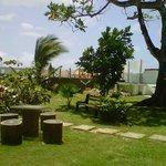 zona verde, jardin del spa