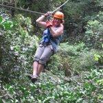 "Having a blast Zip-Lining at ""Canopy Vista Arenal Volcano"""