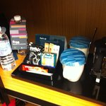 Mini bar in the wardrobe