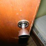 broken door latch lock
