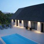 Pool area / patio