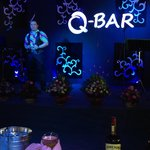 It all happens at the Q-Bar at Queenco