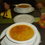 zuppa di pesce buonissima !