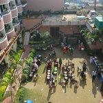 Hotel common space