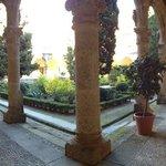 Claustro de la Abadía de Yuste Diciembre '13