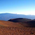On the top of Mauna Kea