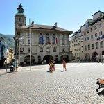 Piazza del Municipio a Bolzano
