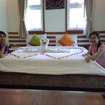 The honeymoon set-up