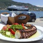Lunch in Skopelos