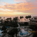 amazing sunsets enjoyed from the balcony