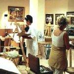 Estudio de pintura, clases