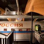 Die Hauptattraktion des Restaurants - die Illyushin