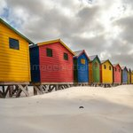 Beach Huts, Muizenberg