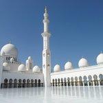 La più grande moschea degli Emirati