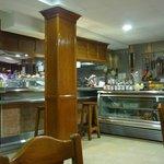 Bar donde se servía el desayuno