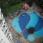 Pool view from 17th Floor