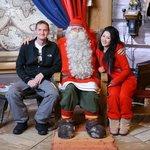 Meeting Santa clause
