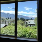 View of the Remarkables Mountains from our room