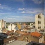 vista do apartamento com o rio paraguai ao fundo