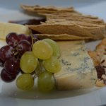 Finished off with a King Island Cheese Platter