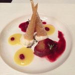 Десерт в стиле Il Pagliaccio