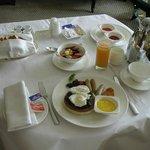 朝食(ルームサービス)