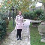 In front of Mandria suite