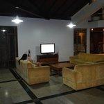 Área de estar com TV