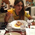 Brasileira no restaurante peruano Segundo muelle