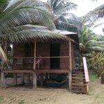 verandah of our chalet