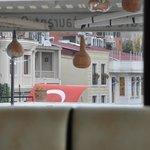 vista laterale della sala colazione
