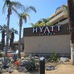 Fachada do Hotel Hyatt