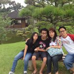 At the Japanese Garden